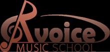 R voice ロゴ